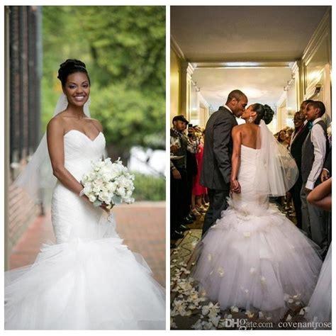 beautiful wedding dresses african american brides