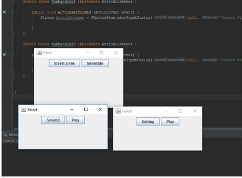 java swing actionlistener multiple buttons java multiple frames popping up when pressing a button