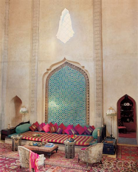 moroccan living room decor morocco design elle decor s lookbook moroccan interior