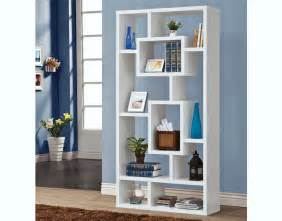 Home modern white display bookcase c 800157