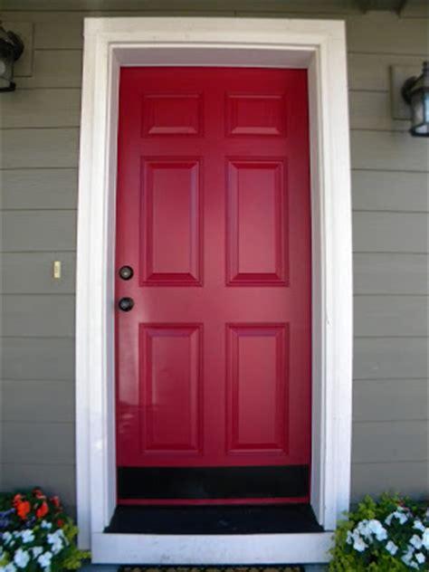 exterior metal door paint painted front door blogher