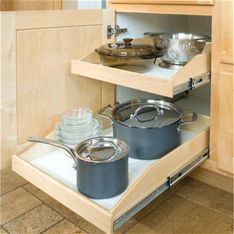 kitchen cabinets roll out shelves made to fit slide out shelves for existing cabinets by