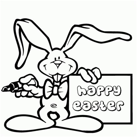 easter bunny coloring pages coloringpagesabc com
