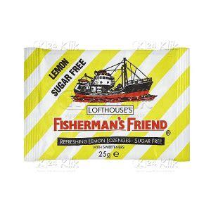 Fishermans Friend Permen Pelega Tenggorokan Fisherman jual beli fishermans sugar free lemon k24klik