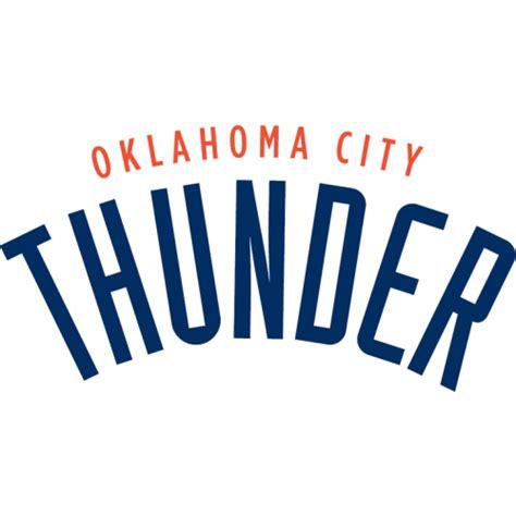 Customizable Wall Stickers oklahoma city thunder script logo decal sticker version
