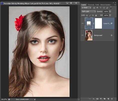 porcelain doll effect photoshop how to create a porcelain skin effect in adobe photoshop