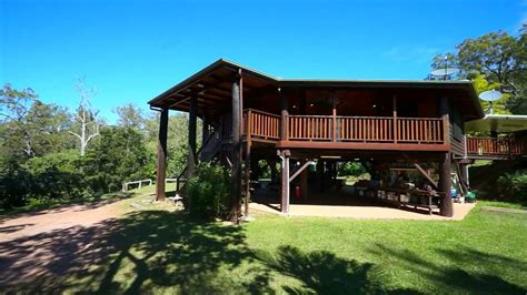 Pole Home Design Queensland by Tropical Paradise Home Bloodwood Road Bloomfield Queensland Youtube