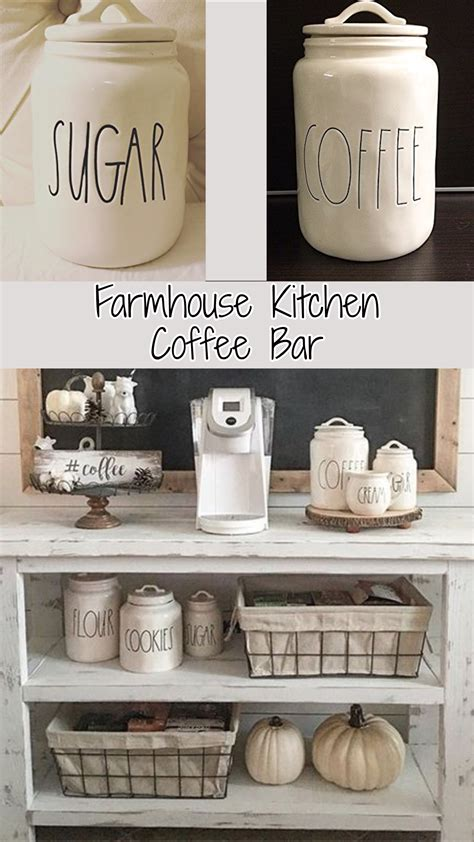 coffee cabinets for kitchen farmhouse kitchen canister sets and farmhouse decor ideas