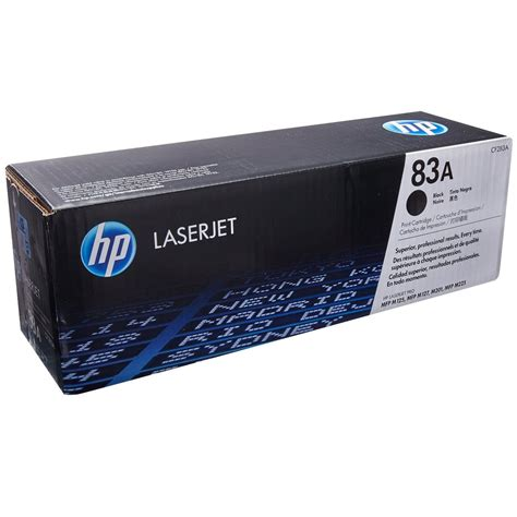 Toner Hp 83a hp 83a black original laserjet toner cartridge cf283a