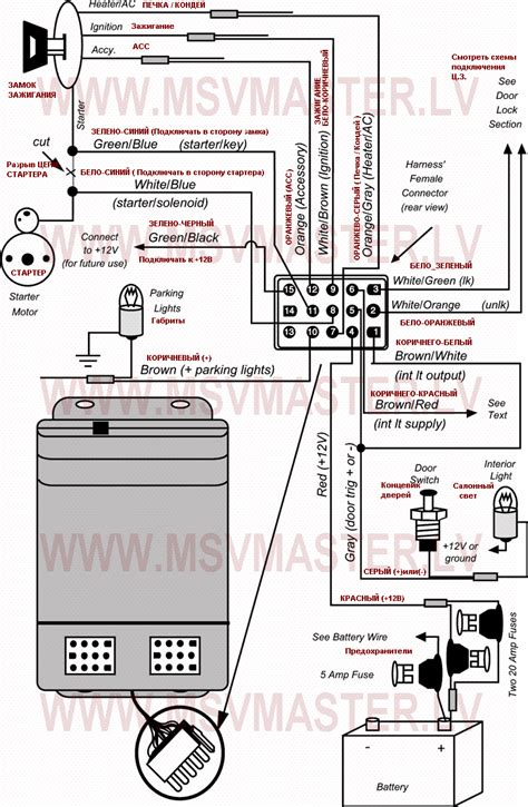 car keyless entry system wiring diagram get free image