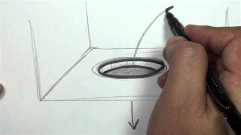 How To Make 3d Drawings On Paper - how to draw a 3d draw a in paper