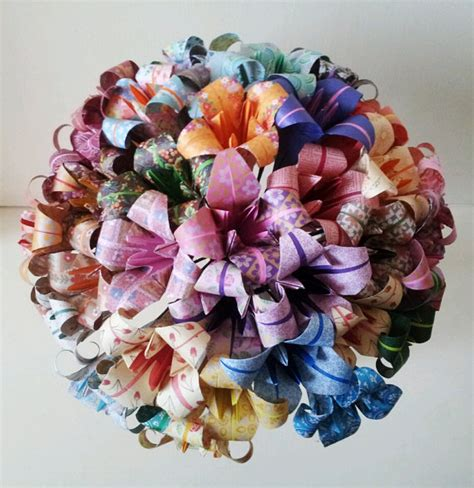 Paper Origami Flower Bouquet - paper flowers origami bouquet wedding paper anniversary