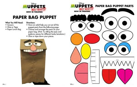 How To Make Paper Puppets Step By Step - 17 best images about all the world is a stage puppets and