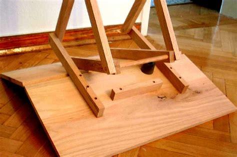 Wood Folding Table Plans Woodwork Folding Table Blueprints Pdf Plans