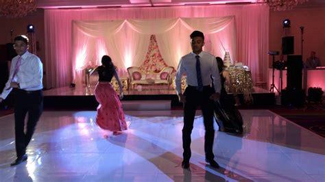 Indian Wedding Reception dance 2017   YouTube