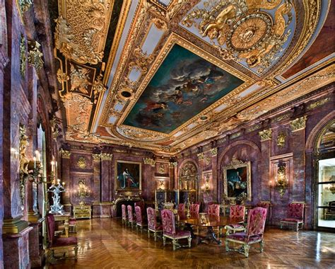 gold trump louis xiv  interior design