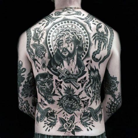 50 traditional back tattoo design ideas for men old