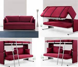 compact bedroom fixtures ideas with magenta sofa bunk bed