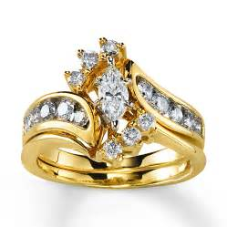 gold wedding set bridal sets yellow gold bridal sets pictures