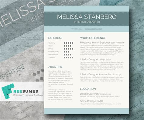 modern cv format doc stylish cv template freebie the modern day candidate