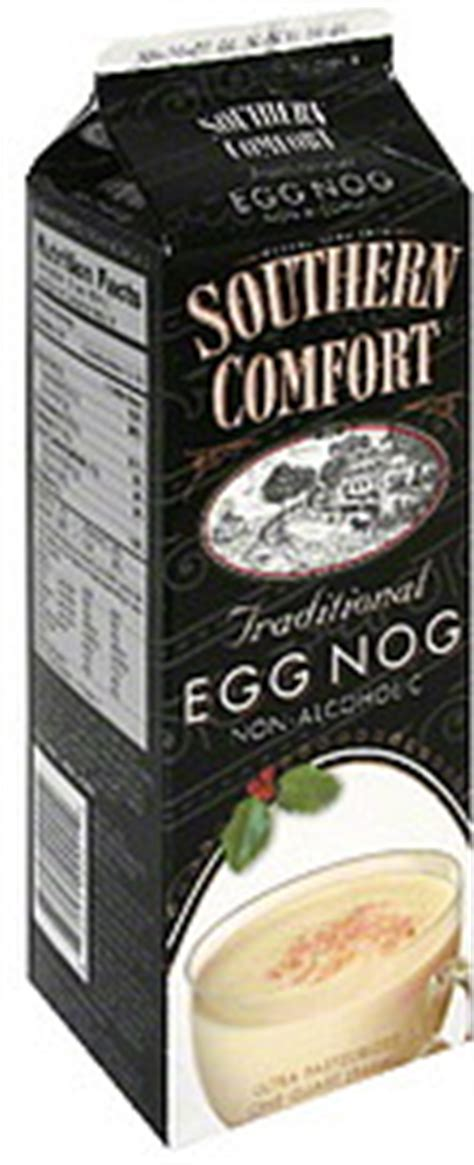 southern comfort nutrition southern comfort egg nog traditional 1 0 qt nutrition