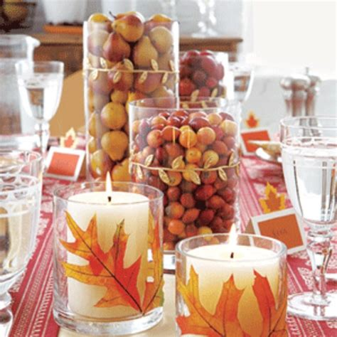 simple fall table decorations 31 days of fall 20 easy fall centerpiece ideas