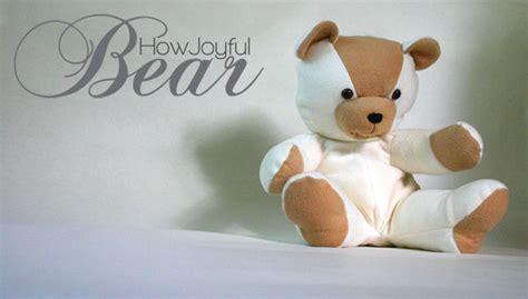 pattern for a fabric teddy bear teddy bear tutorial and pattern