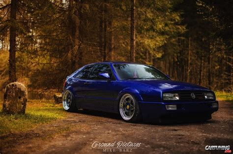 volkswagen corrado tuning tuning vw corrado vr6 front and side