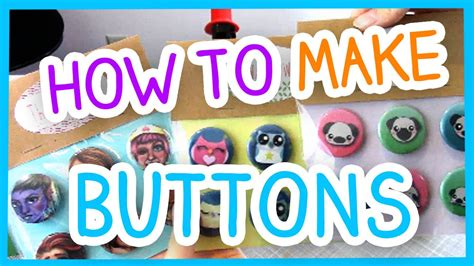 how to make a batton how to make buttons