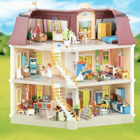 play mobile doll house playmobil doll house large grand mansion free ground