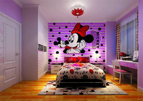 bedroom cartoon design cartoon purple bedroom for little girls