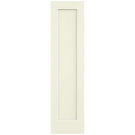 20 Interior Door Jeld Wen 20 In X 80 In Vanilla 1 Panel Flat Solid Composite Interior Door Slab