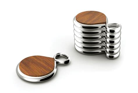 infinity and more nambe infinity coaster set 6 cutlery and more