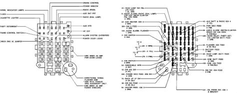 I Need A Fuse Box Diagram For A 1984 Chevy Van G20