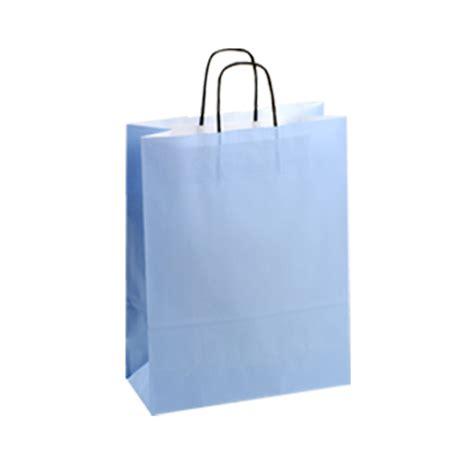 light blue paper gift bags tlb7144mk medium light blue kraft paper carrier bags