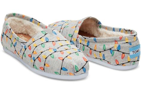 toms glow in the dark christmas light shoes christmas sweaters have nothing on the new collection of