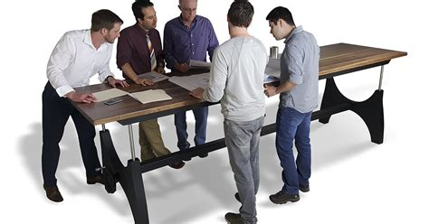 Standing Meeting Table How Design Flexibility From Office Furniture Suppliers Benefits Dealers Formaspaceoffice