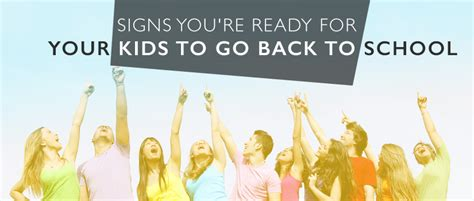 9 signs youre ready to move on to a new job lifestyle signs you re ready for your kids to go back to school
