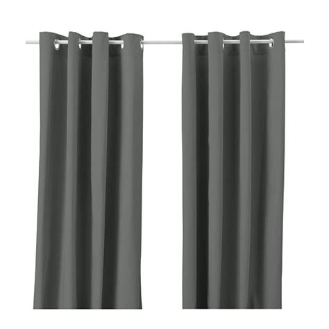 ikea curtains grey merete curtains 1 pair 57x118 quot ikea