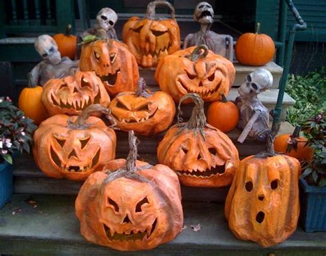 How To Make Paper Mache Pumpkins - paper mache pumpkins and a centaur ultimate