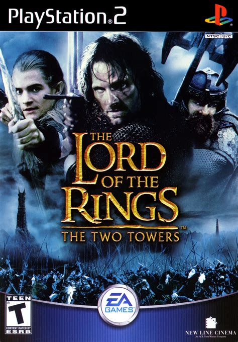 Lord Of The lord of the rings two towers sony playstation 2