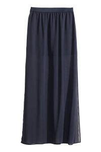 Maxi Set 0243 maxi skirt blue sale h m us