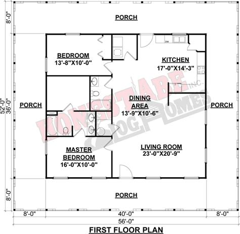 Porch Floor Plan | small cabin plans with porches joy studio design gallery