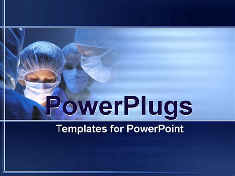templates powerpoint surgery powerpoint template doctors during surgery in operation