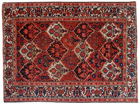 il tappeto bakhtiari persiano iran disegno a formelle morandi tappeti