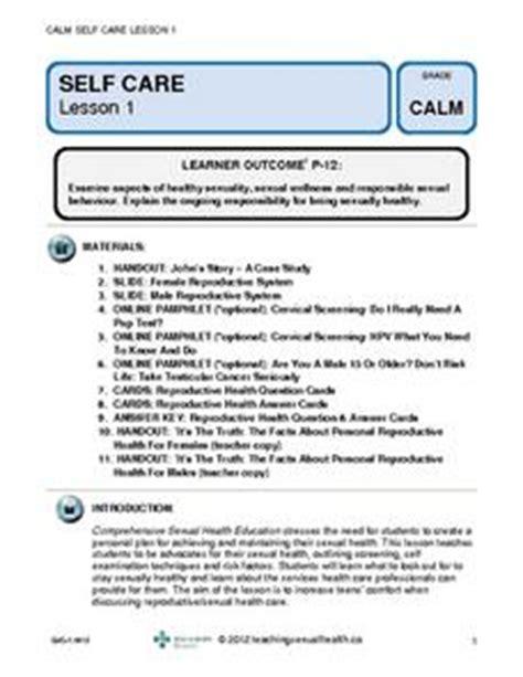 self care 6th 12th grade lesson plan lesson planet