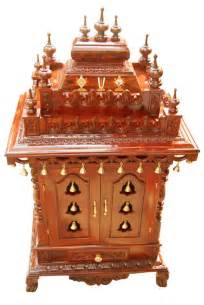 wooden temple designs for home pooja mandir