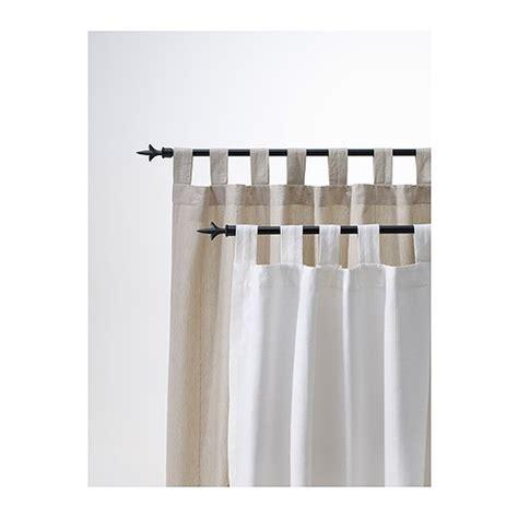 Ikea Lenda Curtains Ideas Ikea Lenda Curtains With Tie Backs 1 Pair