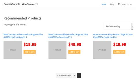 woocommerce custom product template custom woocommerce shop page template for genesis