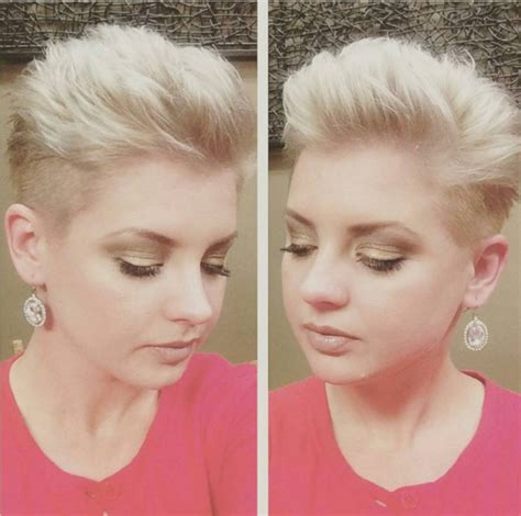 shaved pixie cut women shaved short bob hairstyles